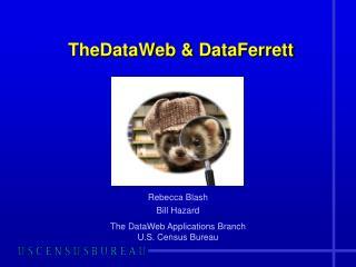 TheDataWeb  &  DataFerrett