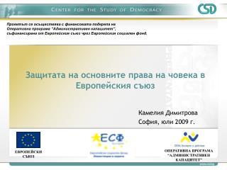 Защитата на основните права на човека в Европейския съюз