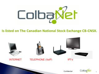 Is listed on The Canadian National Stock Exchange CB-CNSX.
