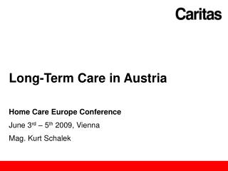 Long-Term Care in Austria