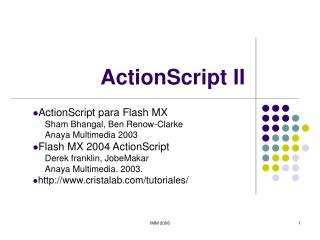 ActionScript II