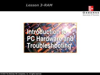 Lesson 3-RAM