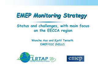 EMEP Monitoring Strategy