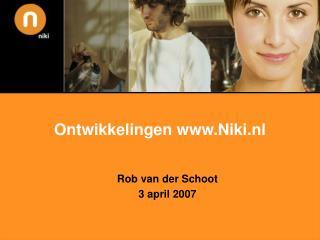 Ontwikkelingen Niki.nl