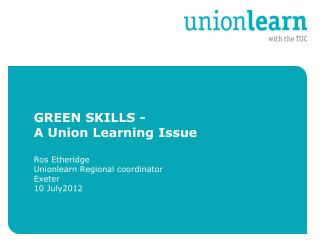 Why do we need Green Skills  – You know this