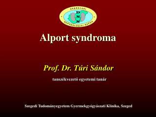 Alport syndroma
