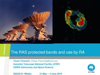The RAS protected bands and use by RA