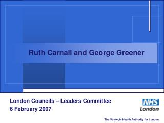 London Councils – Leaders Committee 6 February 2007
