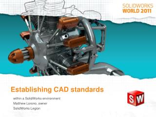 Establishing CAD standards