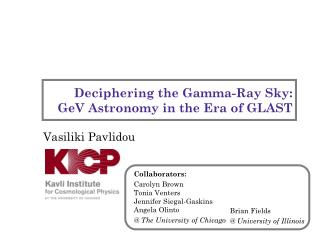 Deciphering the Gamma-Ray Sky: GeV Astronomy in the Era of GLAST