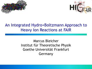 An Integrated Hydro+Boltzmann Approach to Heavy Ion Reactions at FAIR