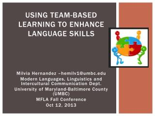 Using Team-Based Learning to enhance language skills