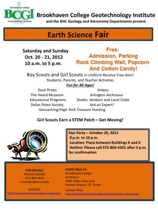 Saturday and Sunday	 	Oct. 20  -  21, 2012	     	10 a.m.  to  5 p.m.