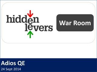 Adios QE 24 Sept 2014