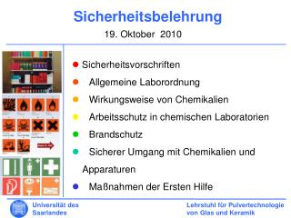 Lehrstuhl für Pulvertechnologie von Glas und Keramik