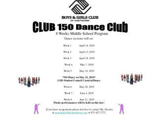 CLUB 150 Dance Club