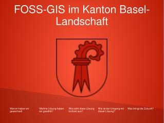 FOSS-GIS im Kanton Basel-Landschaft
