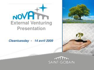 External Venturing  Presentation
