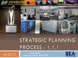 Strategic Planning  Process - 1.1.1