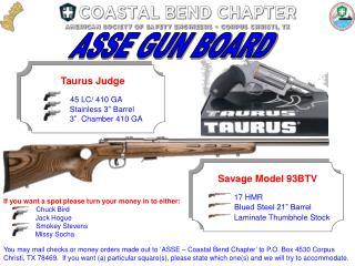 ASSE GUN BOARD