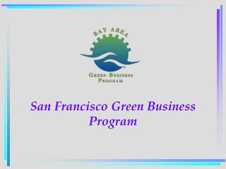 San Francisco Green Business Program
