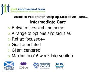 "Success Factors for ""Step up Step down"" care…"