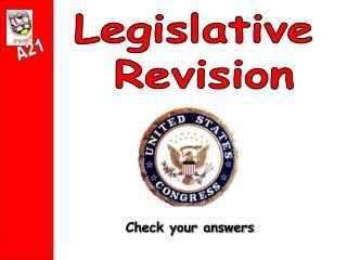 Legislative  Revision