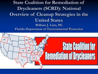 State Coalition for Remediation of Drycleaners