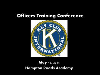 Officers Training Conference