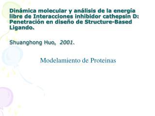 Modelamiento de Proteinas