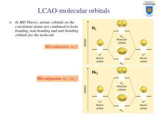 LCAO-molecular orbitals