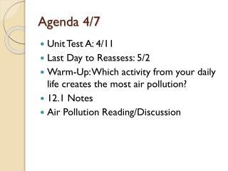Agenda 4/7