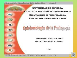 Sistema de Universidades Estatales del Caribe Colombiano      –   Año 2011