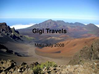 Gigi Travels