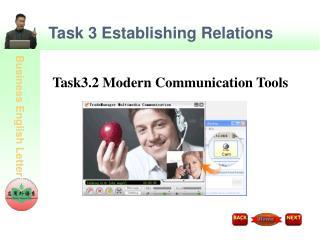 Task 3 Establishing Relations