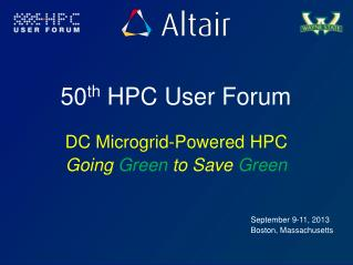 50 th  HPC User Forum