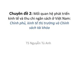TS  Nguyễn Tú Anh