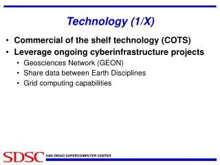 Technology (1/X)