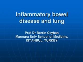 İnflammatory bowel disease