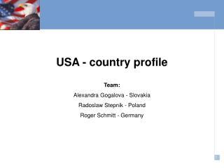USA - country profile