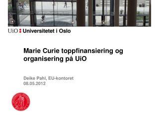 Deike Pahl , EU-kontoret 08.05.2012