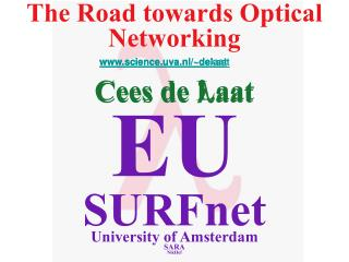 The Road towards Optical Networking