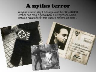 A nyilas terror
