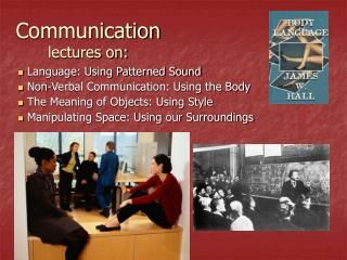 Communication lectures on: