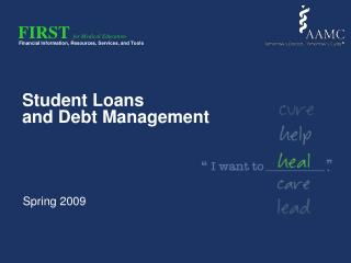 Student Loans  and Debt Management