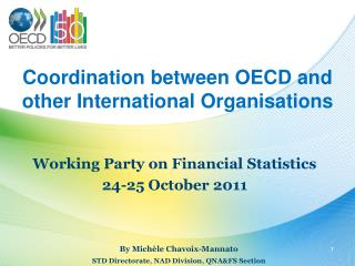 Coordination between OECD and  other International Organisations