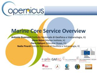 Marine  Core  Service  Overview
