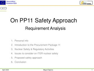 On PP11 Safety Approach