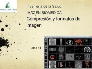 Ingeniería  de la  Salud IMAGEN BIOMEDICA  C ompresión  y  formatos  de  imagen