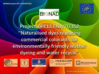 BIONAD  project  LIFE 12 ENV/IT/352